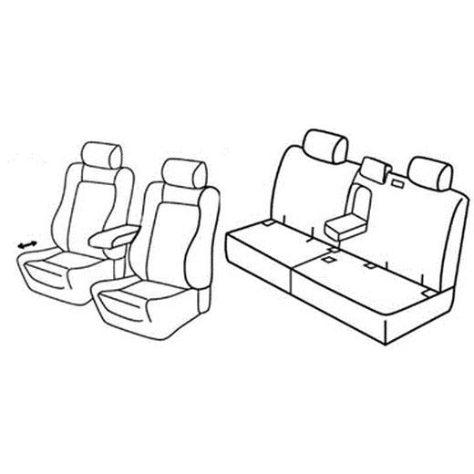 Sedežna prevleka za Opel Antara Cosmo