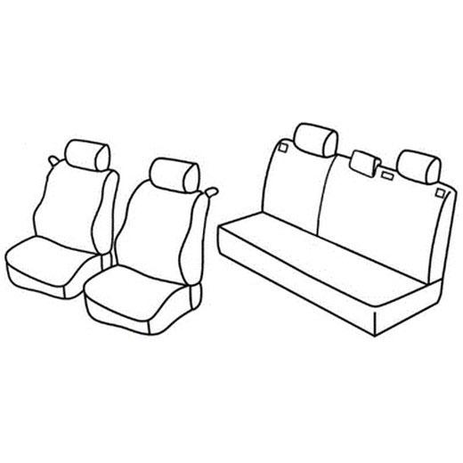 Sedežna prevleka za Opel Astra G