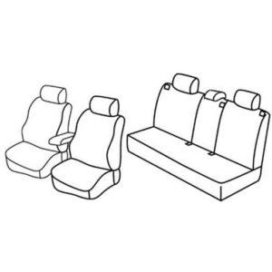 Sedežna prevleka za Opel Astra H