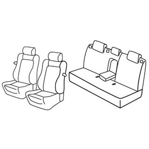 Sedežna prevleka za Opel Astra J GTC