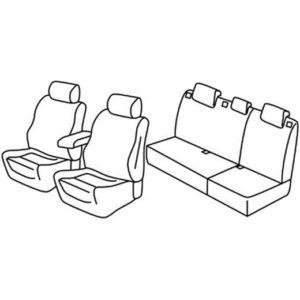 Sedežna prevleka za Opel Astra J