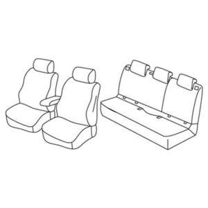 Sedežna prevleka za Opel Astra K HB