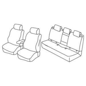 Sedežna prevleka za Opel Astra K Sports tourer