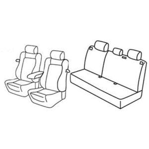Sedežna prevleka za Opel Astra H GTC