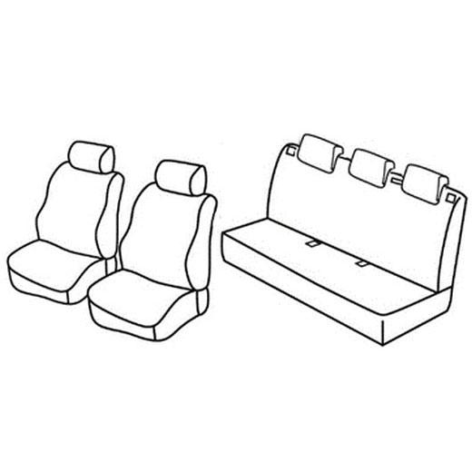 Sedežna prevleka za Opel Corsa