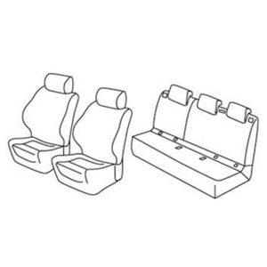 Sedežna prevleka za Opel Corsa E