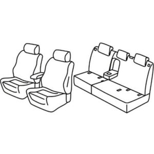 Sedežna prevleka za Opel Grandland X Innovation