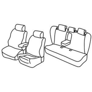 Sedežna prevleka za Opel Insignia
