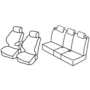 Sedežna prevleka za Opel Meriva Selection Enjoy Cosmo