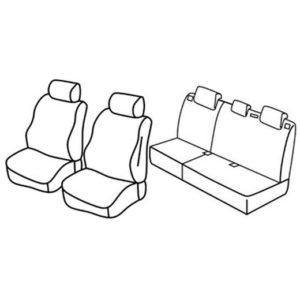 Sedežna prevleka za Opel Mokka X