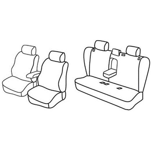 Sedežna prevleka za Opel Vectra