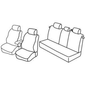 Sedežna prevleka za Opel Zafira