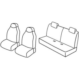 Sedežna prevleka za Toyota Aygo