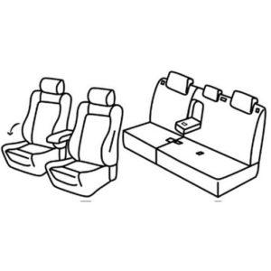 Sedežna prevleka za Peugeot 3008