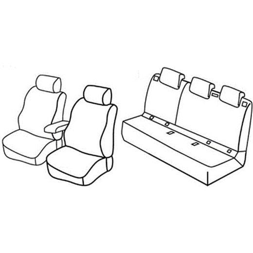 Sedežna prevleka za Peugeot 308