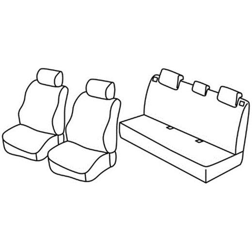 Sedežna prevleka za Renault Clio 2