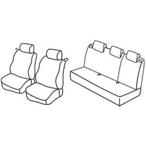 Sedežna prevleka za Renault Clio 3