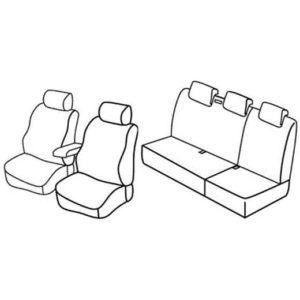 Sedežna prevleka za Renault Kangoo