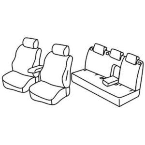 Sedežna prevleka za Renault Laguna