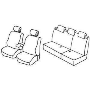 Sedežna prevleka za Renault Megane 2
