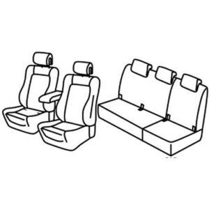 Sedežna prevleka za Renault Scenic 4