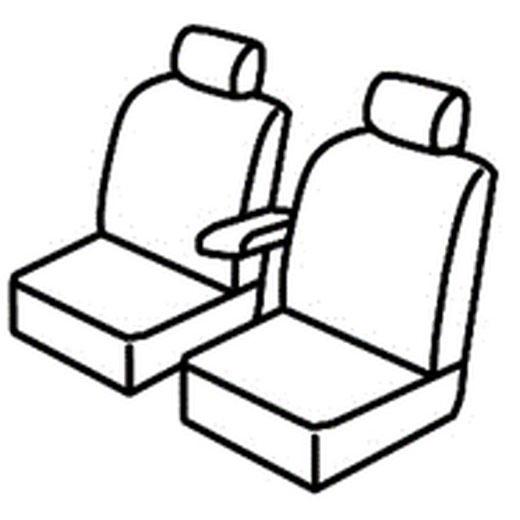 Sedežna prevleka za Renault Trafic