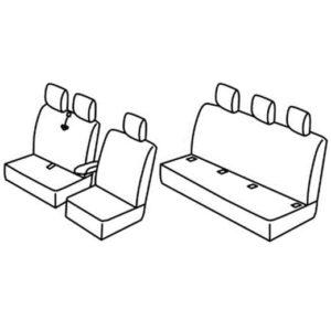 Sedežna prevleka za Renault Trafic Redesign 2011