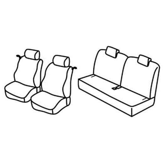 Sedežna prevleka za Renault Twingo