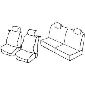 Sedežna prevleka za Renault Twingo 2