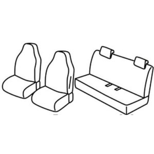 Sedežna prevleka za Renault Zoe