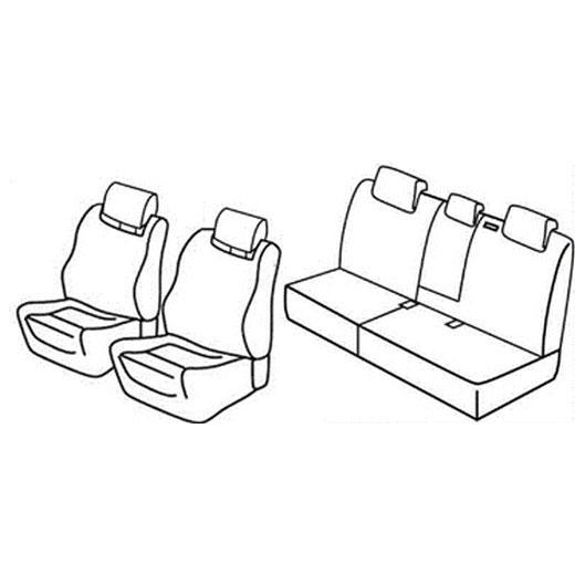 Prevleka po meri za Seat Altea XL Freetrack