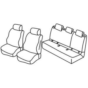 Sedežna prevleka za Seat Arona SUV