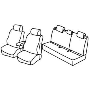 Sedežna prevleka za Seat Ateca SUV, Style