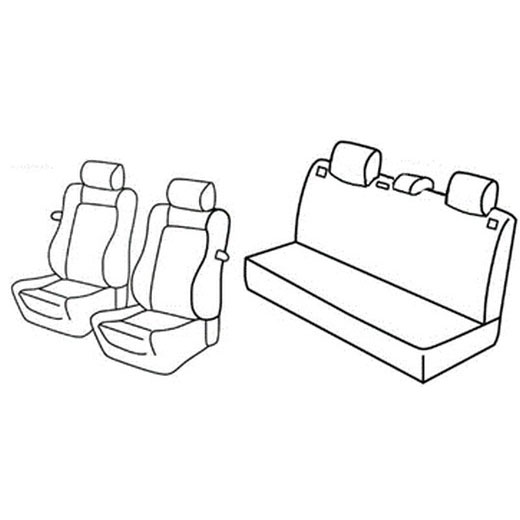 Sedežna prevleka za Seat Ibiza Sport rider
