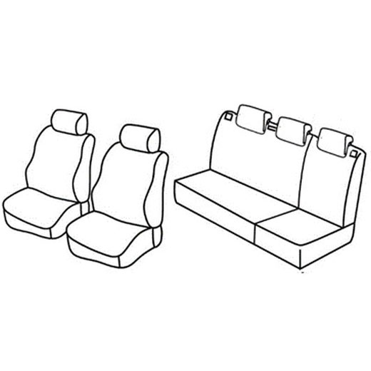 Sedežna prevleka za Seat Ibiza Style