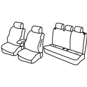 Sedežna prevleka za Seat Ibiza Excellence Style