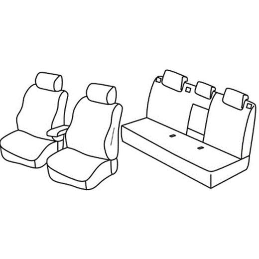 Sedežna prevleka za Seat Toledo