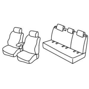 Sedežne prevleke za Škoda Fabia 3 Ambiente