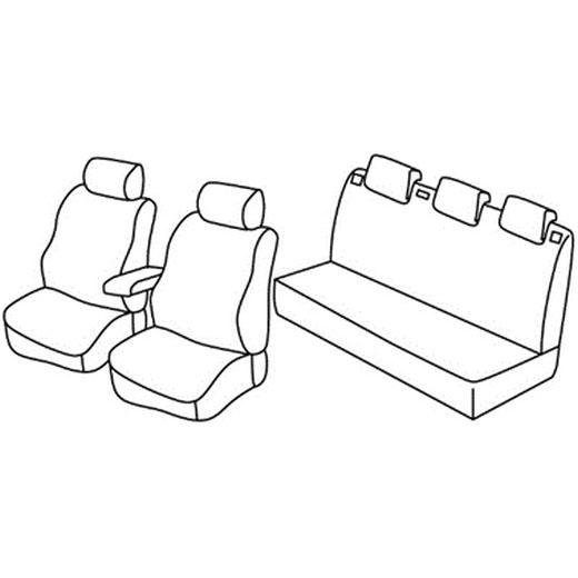 Avtoprevleke za Škoda Fabia 2 redesign