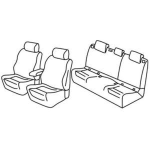 Sedežne prevleke za Škoda Karoq