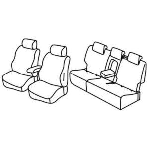 Sedežne prevleke za Škoda Kodiaq