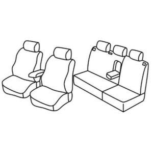 Sedežne prevleke za Škoda Octavia Tour