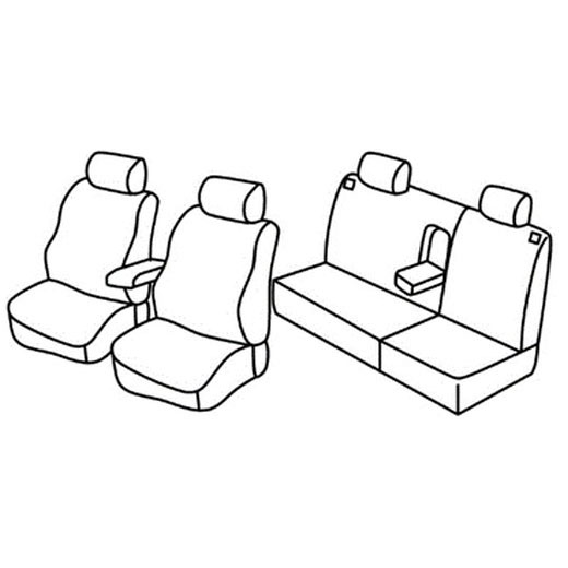 Sedežne prevleke za Škoda Octavia