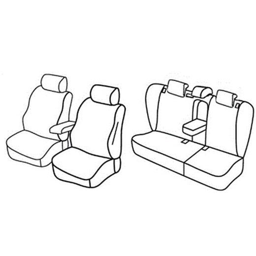 Sedežne prevleke za Škoda Octavia 2
