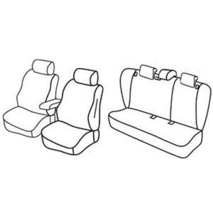 Sedežne prevleke za Škoda Octavia 2 Sedan