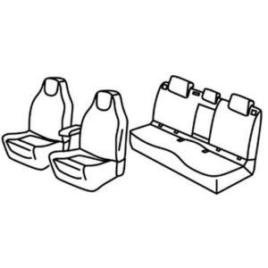 Sedežne prevleke za Škoda Octavia 3 RS