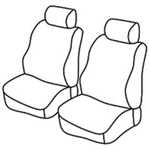 Sedežne prevleke za Škoda Roomster Praktik