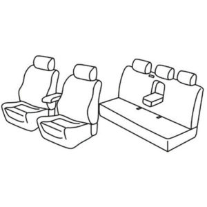 Sedežne prevleke za Škoda Superb