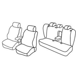 Sedežne prevleke za Škoda Superb 2