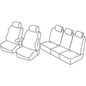 Sedežne prevleke za Škoda Yeti Active